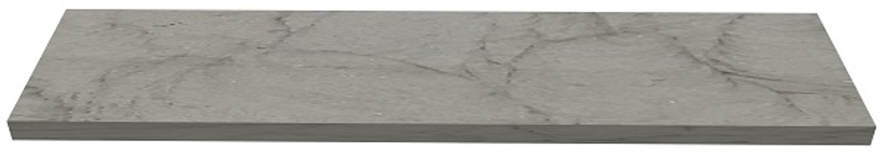 Amherst Gray Sandstone fireplace hearth with square edges