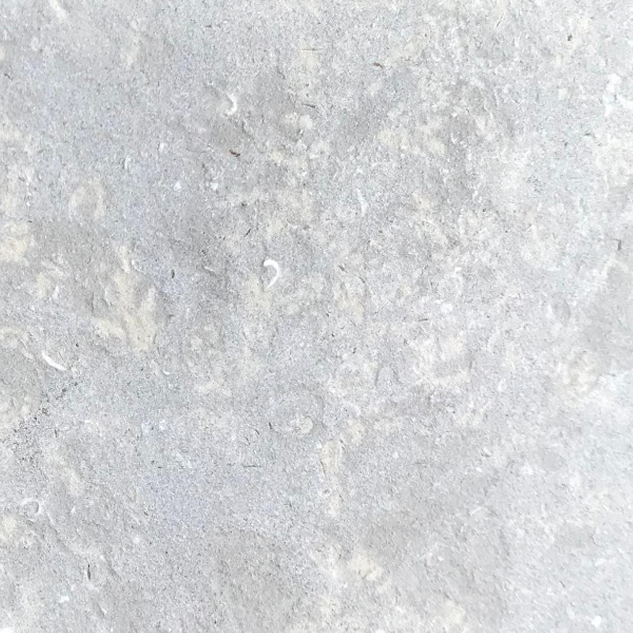 Plaza gray limestone sandblasted finish