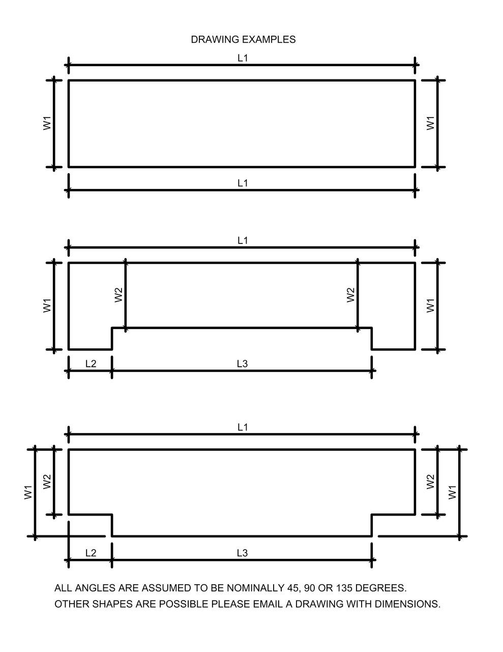 Custom Fireplace Hearth Diagram Group 1