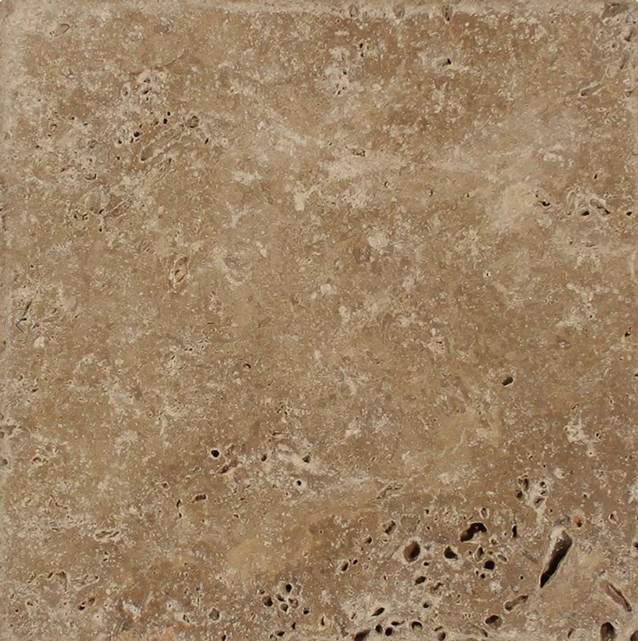 Noce Travertine Fireplace Hearth; honed or brushed finish; various profiled edges including bull nose and chiseled edges; natural stone; one piece; hearth pad; hearth slab; shipped nationwide made in USA.