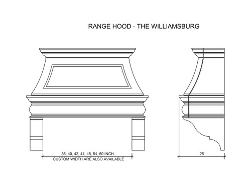 Rangehood Diagram