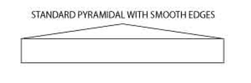 Pyramidal Column Cap or Pier Cap Drawing