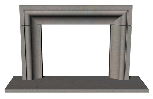Chantilly Fireplace Mantel Surround CAD model