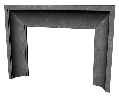 Springfield Fireplace Mantel Surround CAD Render
