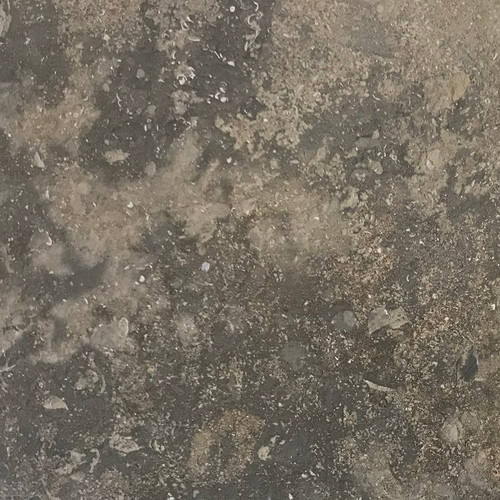 Plaza Gray limestone antique brushed finish