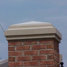 Column Pier Pillar Caps; any size; limestone, bluestone, sandstone, marble, granite, travertine