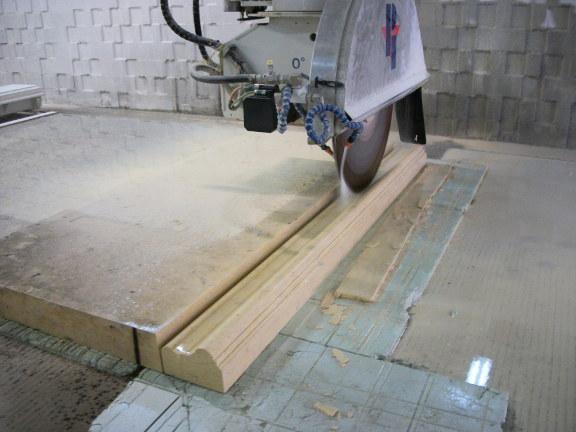 Custom stone cutting
