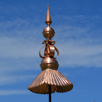 Rooftop Copper Finial