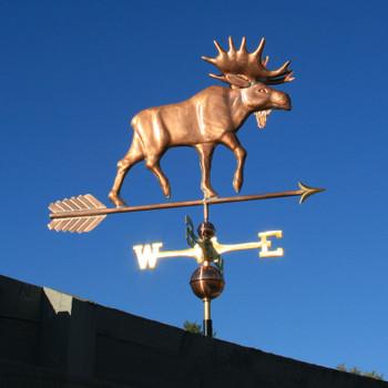 Moose Weathervane 101