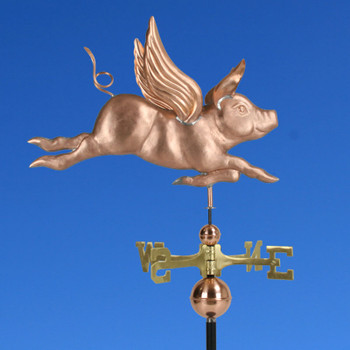 Flying Pig Weathervane 366