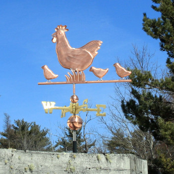 Hen and Chicks Weathervane 323