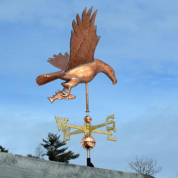 Eagle and Fish Weathervane 453