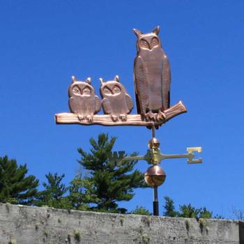 Owls Weathervane 498