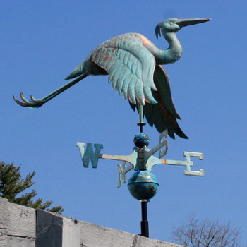 Heron Weathervane 121