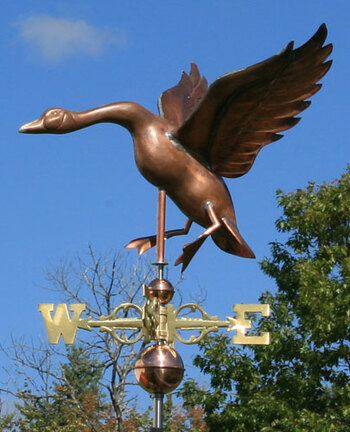 Goose Weathervane 155