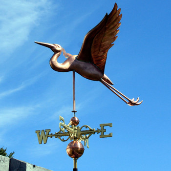 Heron Weathervane 302
