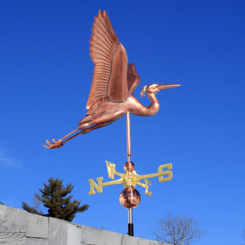 Heron Weathervane 378