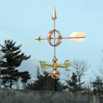 Arrow Sphere Weathervane 103