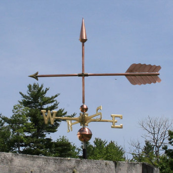 arrow weathervane