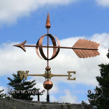 Arrow Sphere  Weathervane 209