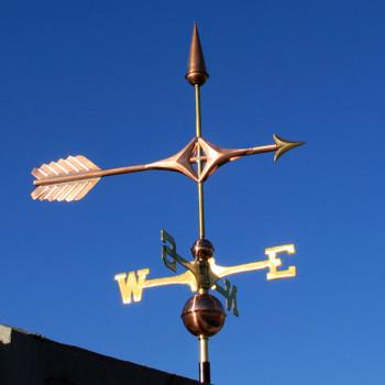 Arrow Weathervane 359