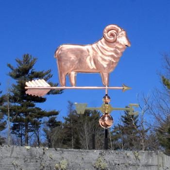 ram sheep weathervane