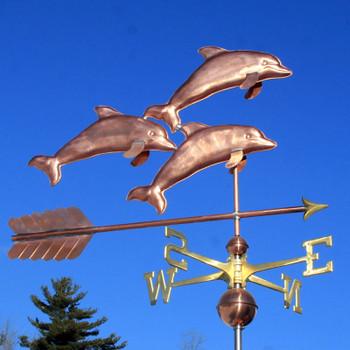 Dolphins Weathervane 526