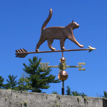 cat weathervane