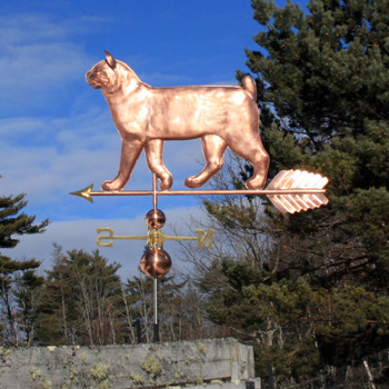 large bobtail cat weathervane