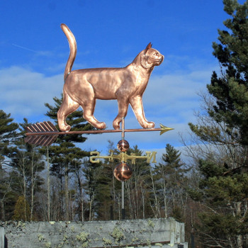 large cat weathervane