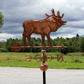 elk weathervane