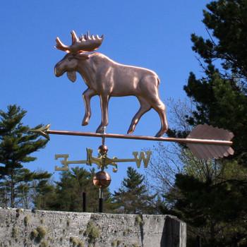 Large Moose Weathervane 211