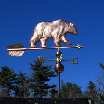 large bear weathervane