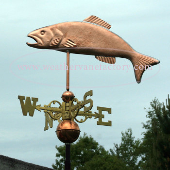 Trout Weathervane 153