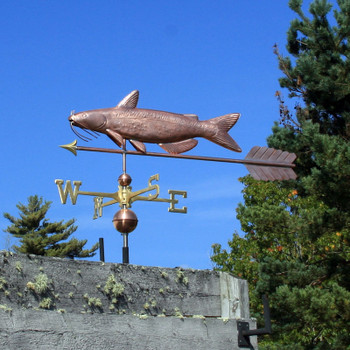 catfish weathervane