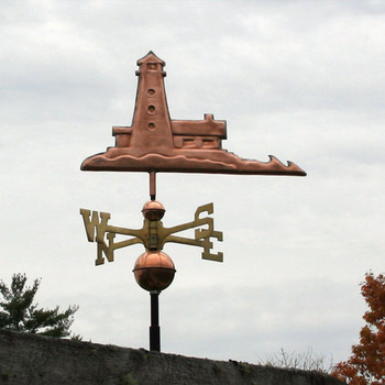 lighthouse weathervane