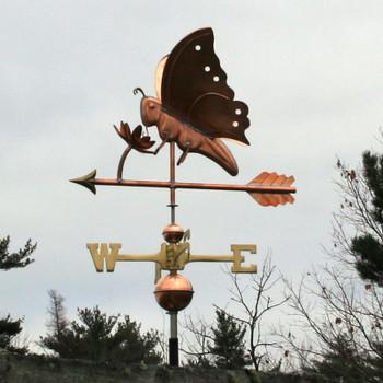 butterfly weathervane