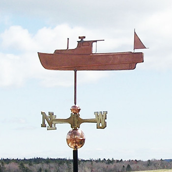 lobster boat weathervane