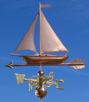Sailboat Weathervane  473