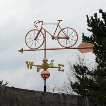 Bicycle Weathervane 524