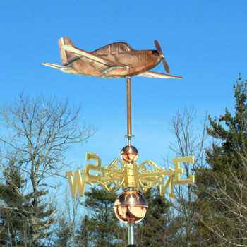 low wing airplane weathervane