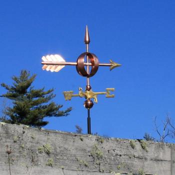 Arrow Sphere Weathervane 549