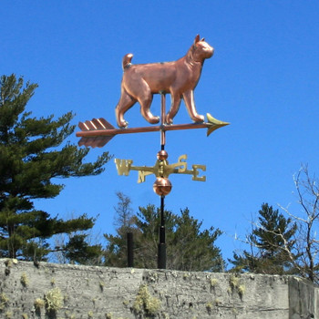 bobtail cat weathervane