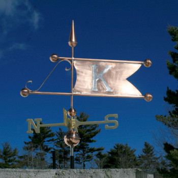Banner with Letter Weathervane