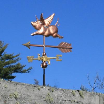 Flying Pig Weathervane 550
