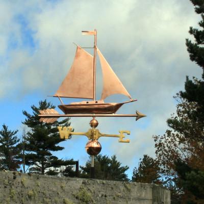 Sailboat Weathervane 470