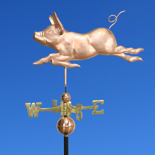 Running Pig Weathervane