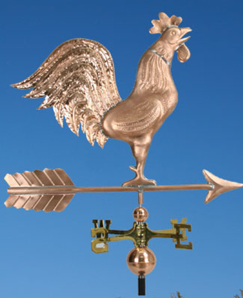 Big Crowing Rooster Weathervane