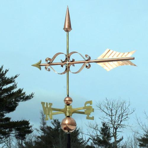 fancy arrow weathervane