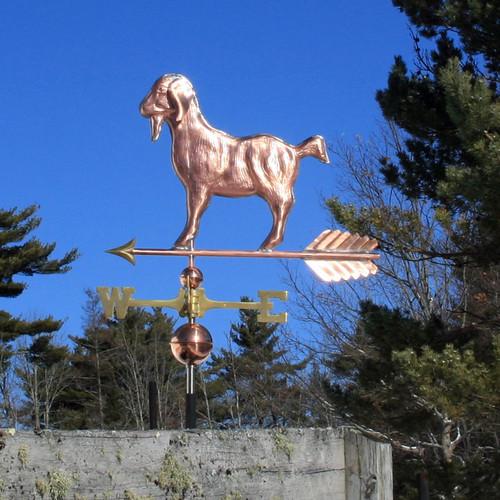 nubian goat weathervane